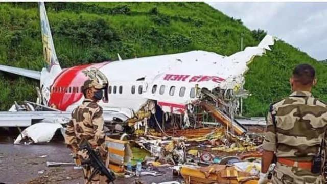 Os momentos que se seguiram ao acidente com o avião da Air India Express
