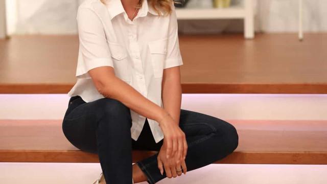 Cristina Ferreira volta a surgir sem maquilhagem... e de barriga à mostra