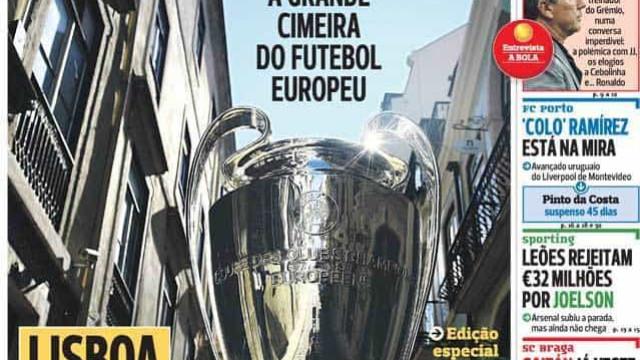 Por cá: A Lisboa dos campeões e a 'central nuclear' do FC Porto