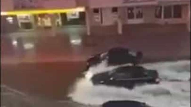 Granizo e chuva intensa provocam inundações em Chaves e há imagens