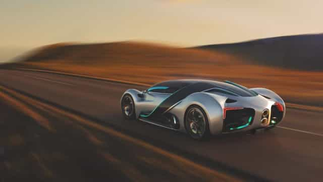 Hyperion XP-1 é o poderoso carro movido a hidrogénio que tem de conhecer