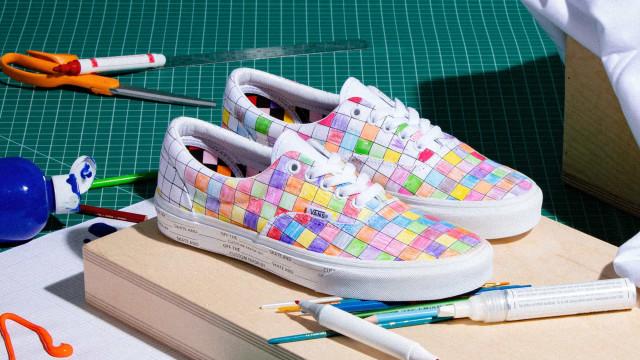 Vans desperta a criatividade com coleção de sapatilhas U-Color