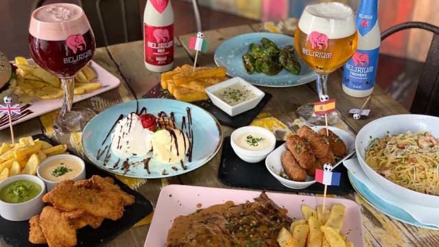 Delirium Café cria menu especial para fase final da Liga dos Campeões