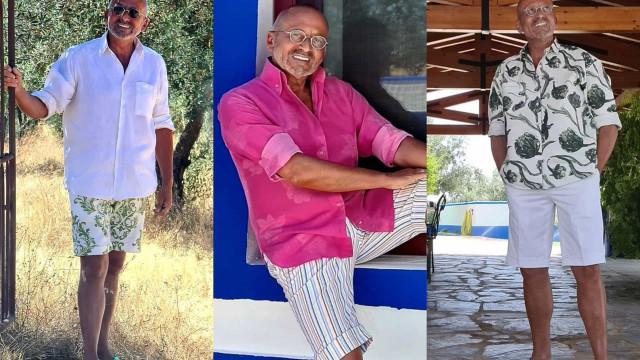 Look da semana: Os visuais de Manuel Luís Goucha nas férias