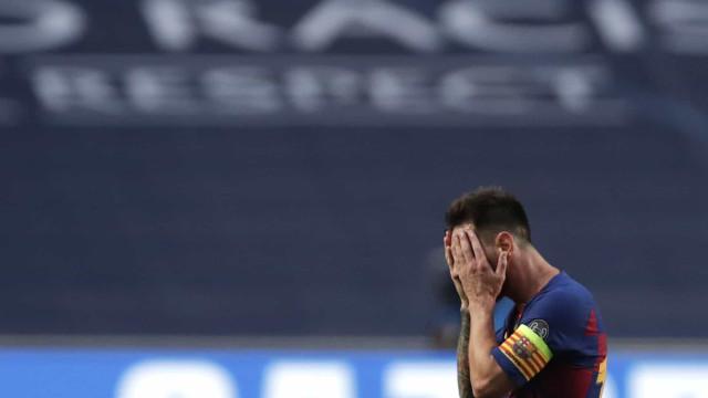 Messi dá 'murro na mesa' e ameaça sair se não houver mudanças