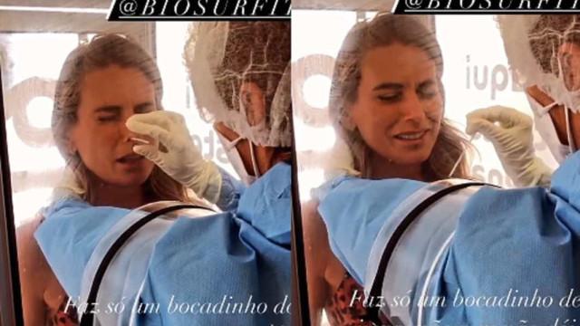 Vídeo: Liliana Santos faz primeiro teste à Covid-19