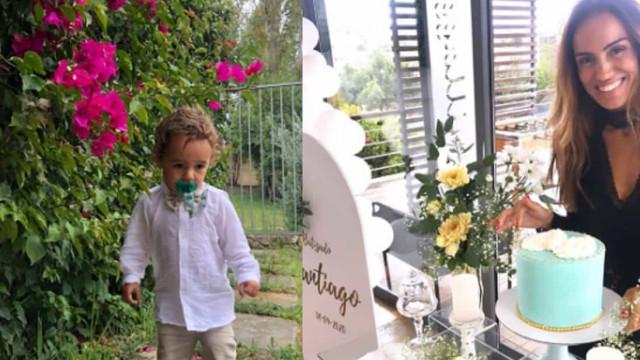Liliana Aguiar batiza filho mais novo. As imagens deste momento especial