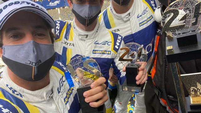 A reação de Félix da Costa ao histórico 2.º lugar nas 24h de Le Mans