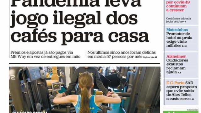 Hoje é notícia: Marcelo é o único que resiste; Estado nega apoio a GNR