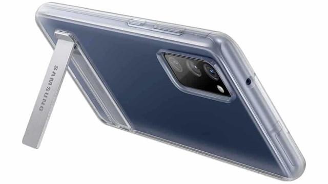 Galaxy S20 FE. Já são conhecidas as capas protetoras