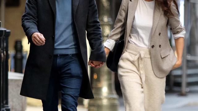 O amor vai de vento em popa: Katie Holmes apanhada de novo com o namorado