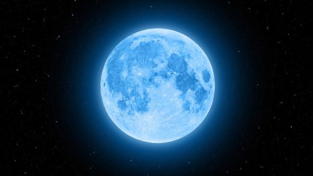 Atenção. Há uma Lua Cheia Azul prevista para outubro