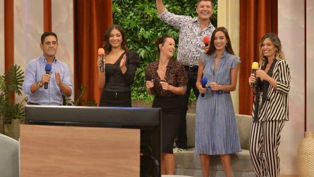 Rostos da SIC juntam-se em karaoke com canções de Marco Paulo