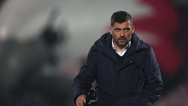Sérgio Conceição quer FC Porto de 'portas fechadas' ao mercado
