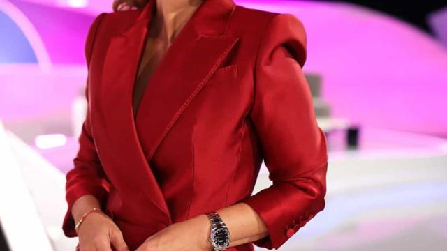 A história do colar e da pulseira da sorte que Cristina usou na estreia