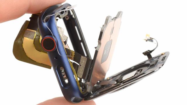 O novo Apple Watch foi totalmente desmontado. Veja as imagens