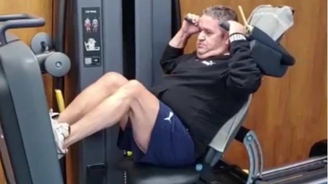Vídeo: Fernando Mendes mostra-se focado nos treinos
