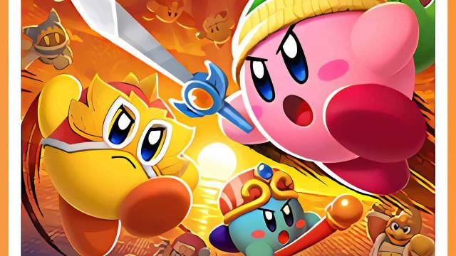 Sem aviso, Nintendo lançou novo jogo de 'Kirby'