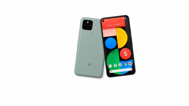 Novas fotografias mostram Pixel 5 em verde