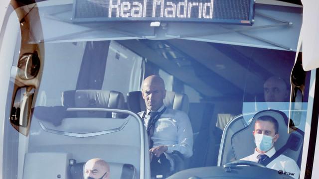 Os senhores que Zidane já riscou na sua 'segunda vida' no Real Madrid