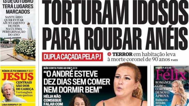 Hoje é notícia: Lugares marcados em Fátima; Três mil carros assaltados