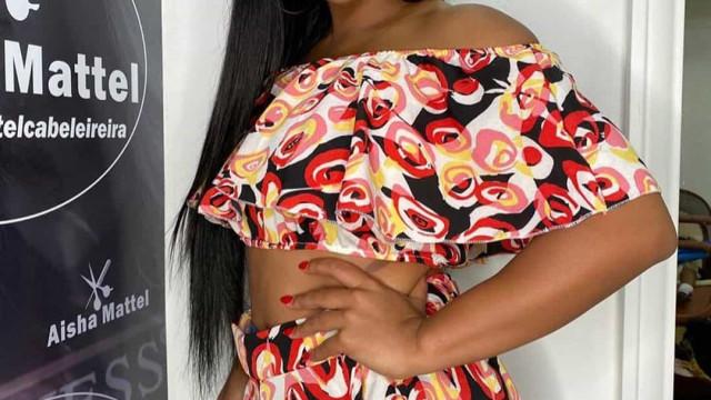 Reveladas na Internet imagens íntimas da cantora de kizomba Josslyn