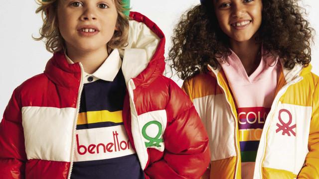 Benetton apresenta blusões acolchoados (e amigos do ambiente!)