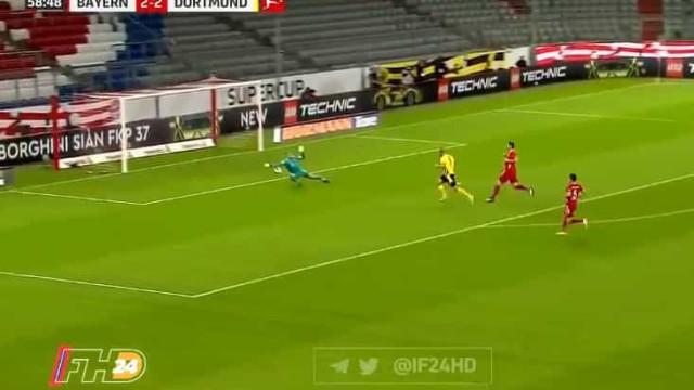 Quem tem Neuer... tem tudo. A espetacular defesa frente ao Borussia