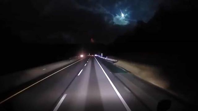 Meteorito iluminou céus da Pensilvânia e causou algum pânico