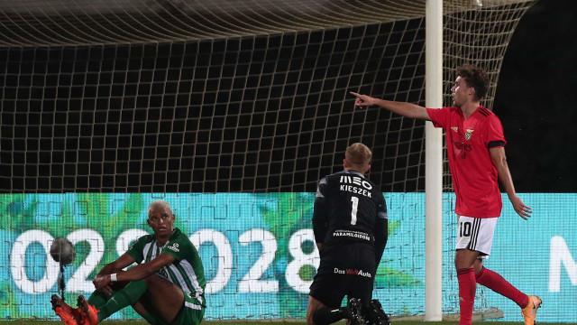 Demolidor em alemão é... Waldschmidt. Benfica só sabe vencer na I Liga