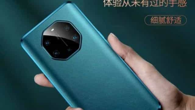 Huawei. Já estão a circular imagens de um modelo Mate 40