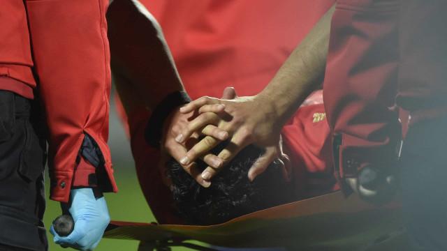 André Almeida sofreu lesão grave e arrisca paragem longa