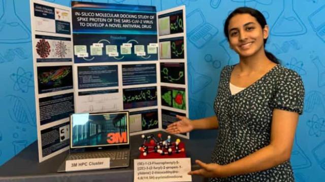Jovem de 14 anos faz descoberta que pode conduzir à cura para a Covid-19