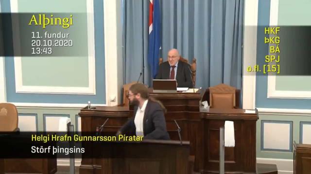 Sismo de magnitude 5.6 resulta em momento viral no parlamento islandês