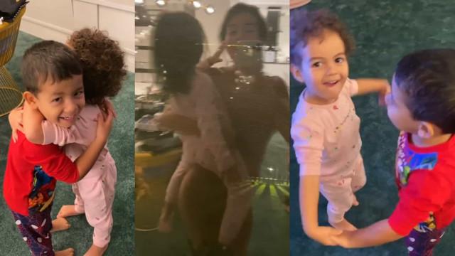 Georgina Rodríguez partilha ternurento vídeo dos filhos a dançar
