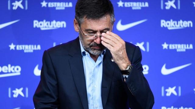 Presidente do Barcelona em isolamento após familiar contrair Covid-19