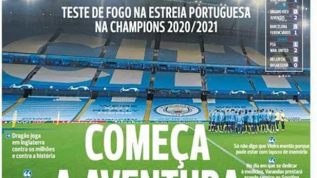 Por cá: Início da aventura milionária do FC Porto e a revolução de Jesus