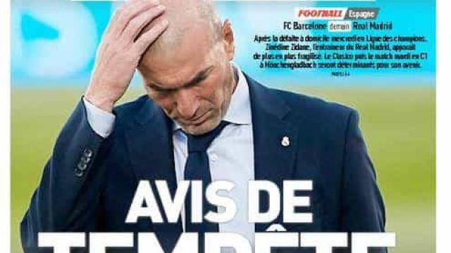 Lá fora: Aviso de tempestade no Bernabéu e a luta contra o tempo de CR7