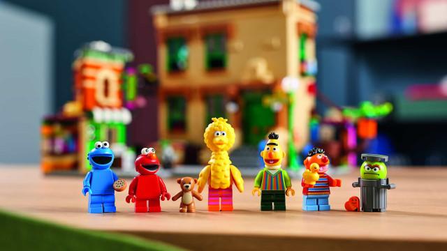 Rua Sésamo chega em LEGO: Regresse à sua infância