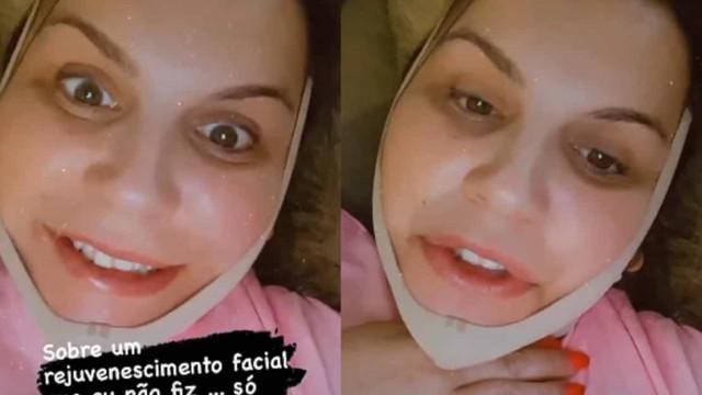 """Katia Aveiro desmente notícia de """"rejuvenescimento facial"""""""