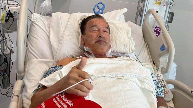 """Arnold Schwarzenegger operado ao coração. """"Sinto-me fantástico"""""""