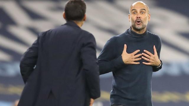 Guardiola quebra o silêncio e responde a acusações de Sérgio Conceição