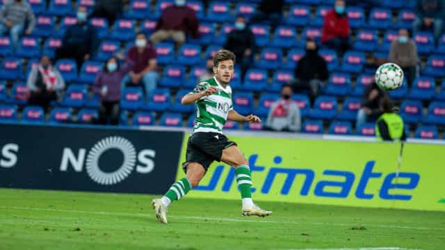 Leão mete duas no 'Pote' açoriano e regressa a Lisboa com três pontos