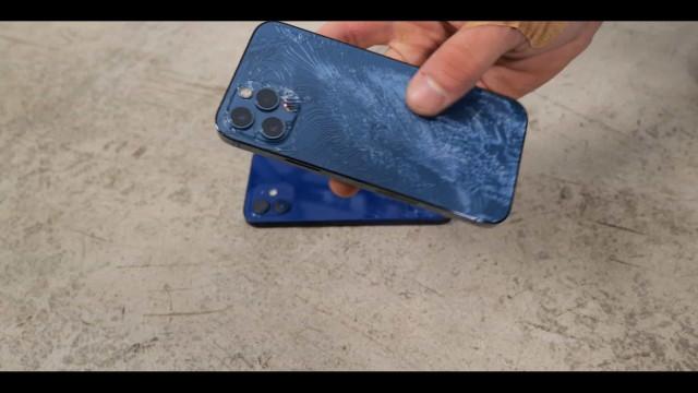 Já chegaram os primeiros testes de resistência ao iPhone 12