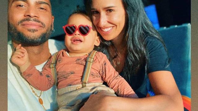 Filho de Rita Pereira em momentos de cumplicidade com o irmão