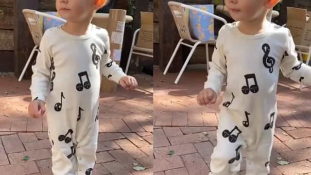Viúva de Nick Cordero destaca adorável vídeo do filho