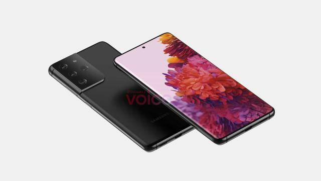 Samsung. Reveladas imagens do novo topo de gama