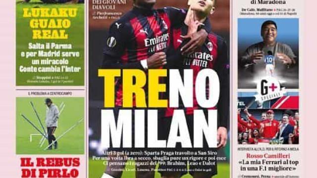 Lá fora: A queda Royal de Mourinho e o comboio português do Milan