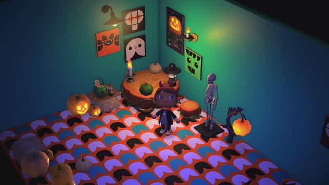 LEGO DOTS traz magia de Halloween a Animal Crossing: New Horizons