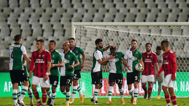 Sporting goleia e 'Saca' o apuramento para os '16-avos' da Taça